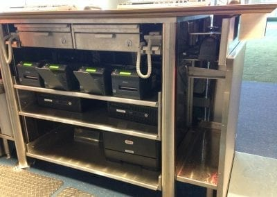 Custom Airport Service Cabinet