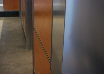 Custom Metal Office Trim
