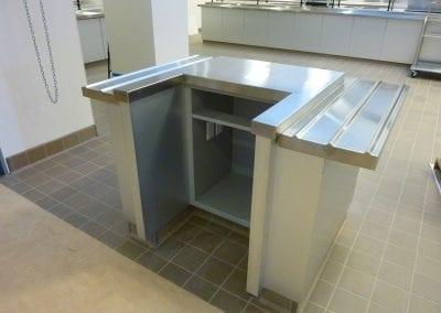 Custom POS Cabinet