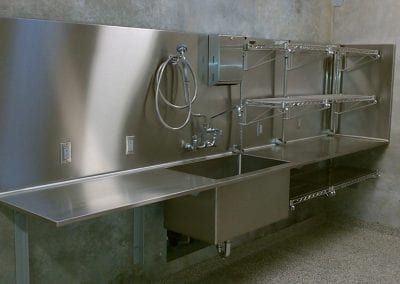 Custom Stainless Laboratory Sink