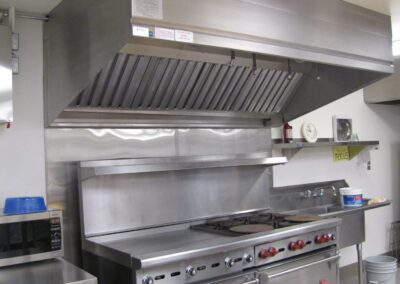Custom Stainless Exhaust Hood Install