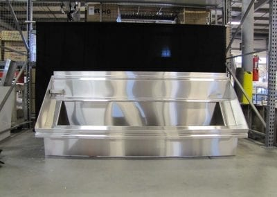 Custom Compartment Sinks