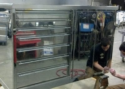 Custom High Polished Tool Boxes