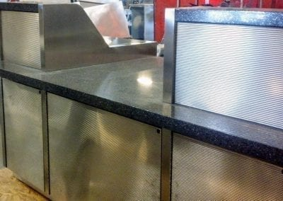 Custom Kiosks with Granite Tops