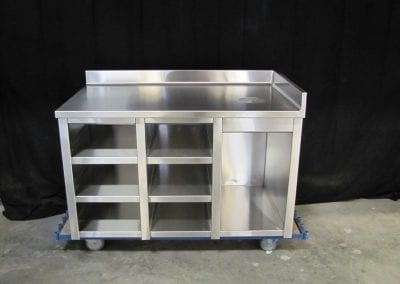 Custom Stainless Cabinets