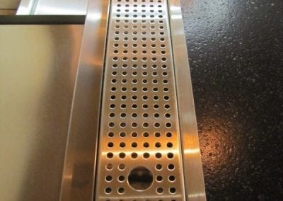 Custom Stainless Drip Pans