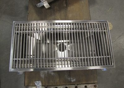 Custom Stainless Grating