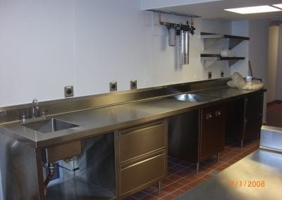 Custom Stainless Laboratory Cabinets