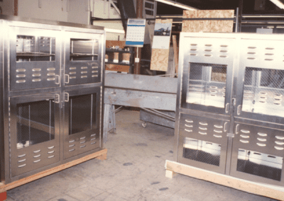 Custom Stainless Passthrough Cabinets