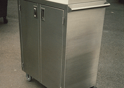 Custom Stainless Rolling Cart