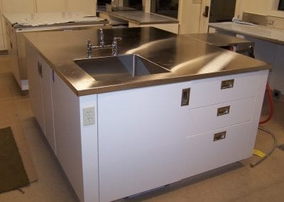 Large Custom Stainless Countertop
