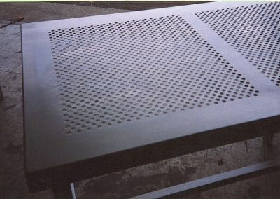 Perforated Countertop