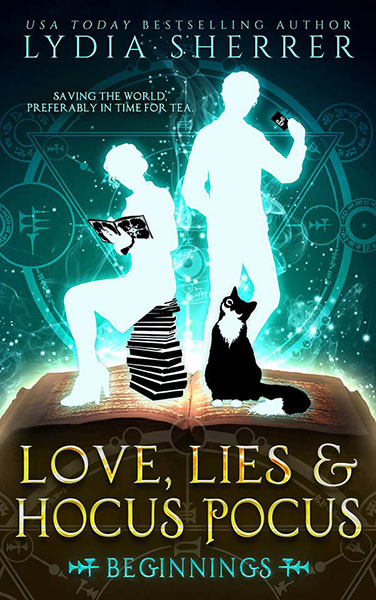 Love, Lies, and Hocus Pocus - cozy fantasy by Lydia Sherrer