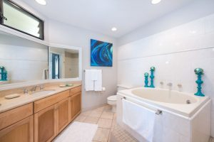 Master Bathroom with Japanese Soaking Tub and Walk In Shower