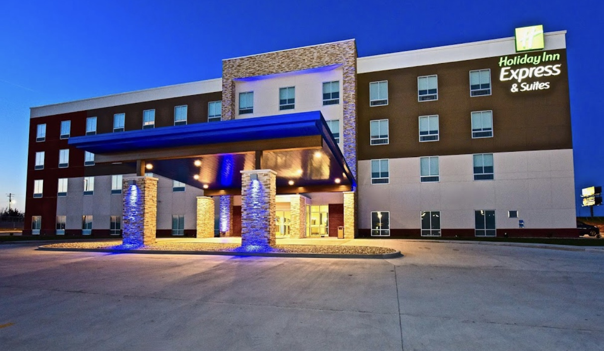 Holiday Inn Express & Suites completed commercial electrical project