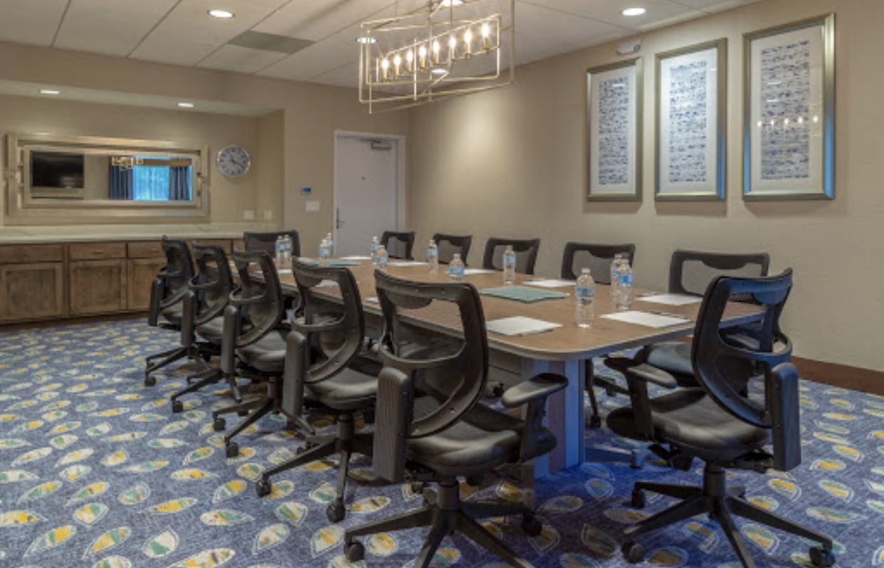 Commercial conference office room with great lighting