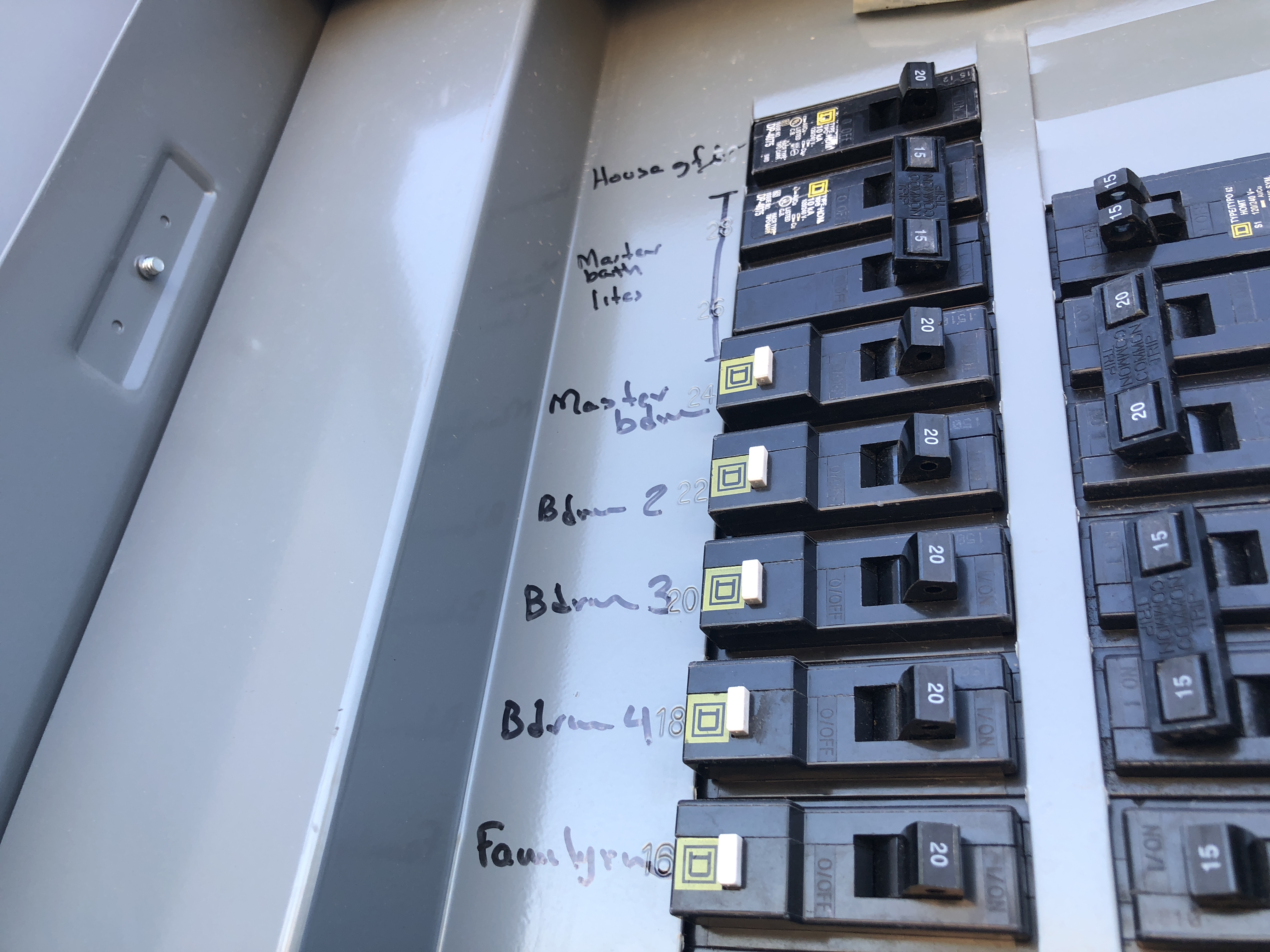 Electrical fuse box. Scott Electric provides service for all-aspects of electrical needs.