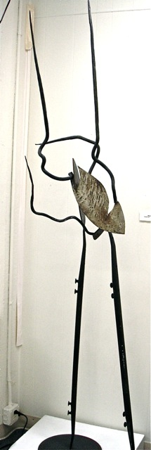 Aflame (TS Eliot Series)(4) Welded and Hammered Steel 6' H.