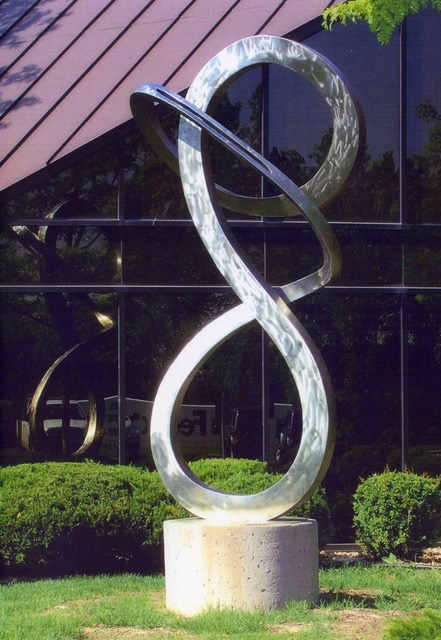 Equanimity 10 ft high Stain less Steel St.Louis Park, Minnesota