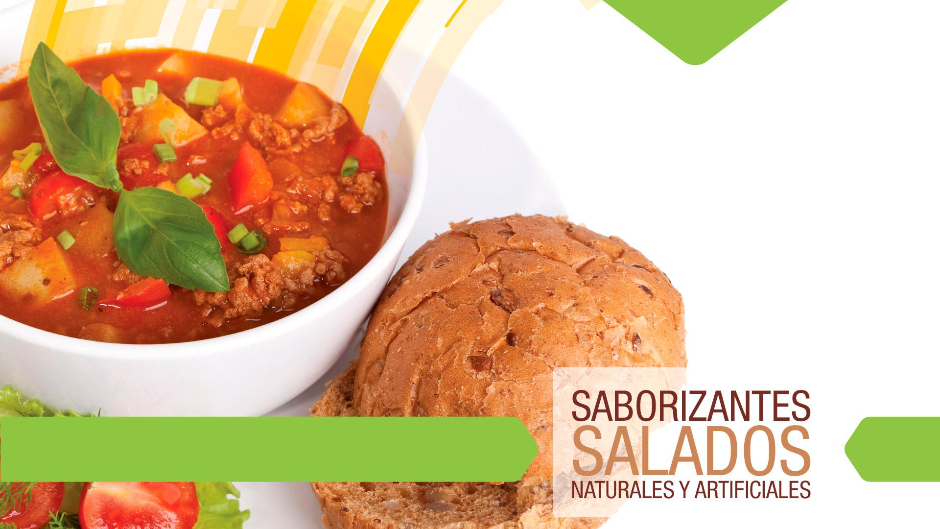 Saborizantes Salados   Naturales y Artificiales