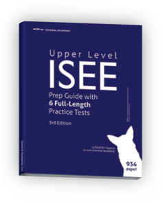 ISEE Practice Tests for Upper Level Book