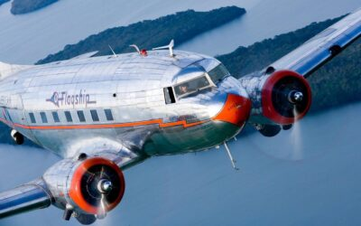 """FLY IN A REAL DC-3! The beautiful """"Flagship Detroit"""""""