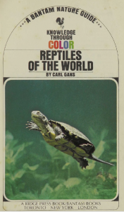 Reptiles of the World Cover