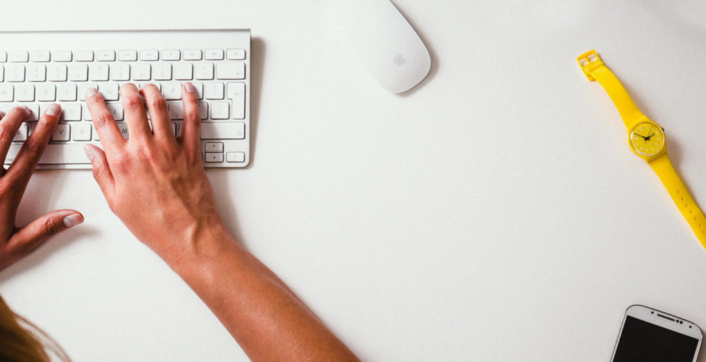 working on a home service business blog