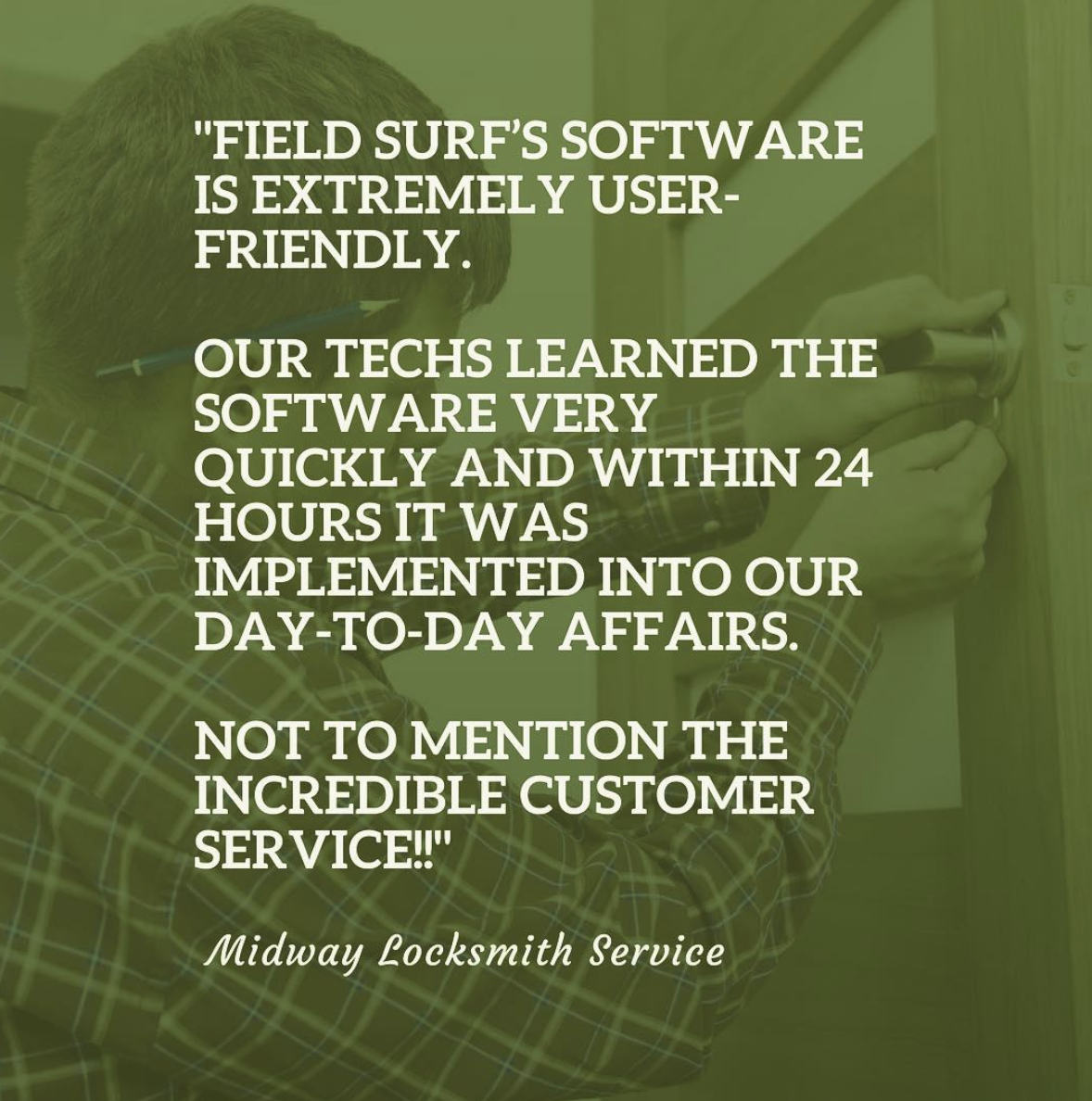 locksmith software testimonial