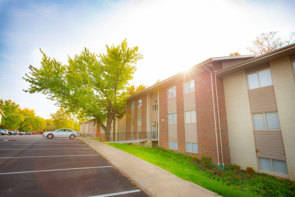 Invest in large apartment communities