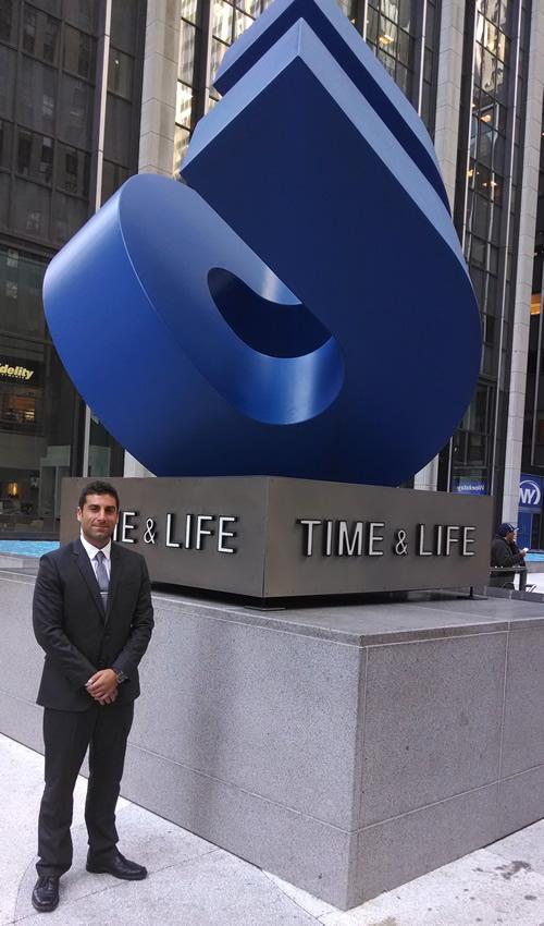 Brett Napoli - thatDROP Founder, at Complex Media in NYC