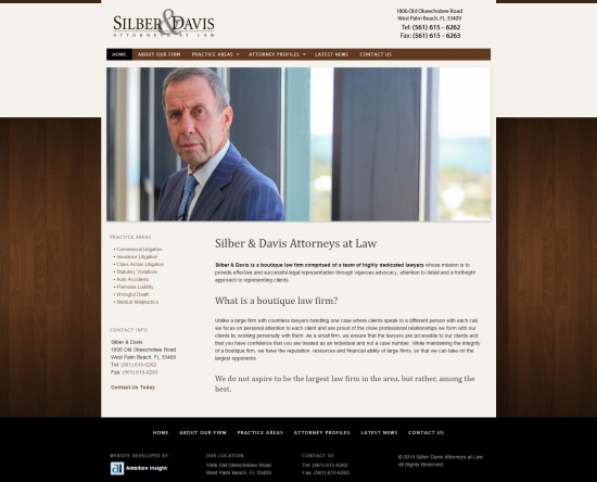 Silber & Davis Attorneys at Law