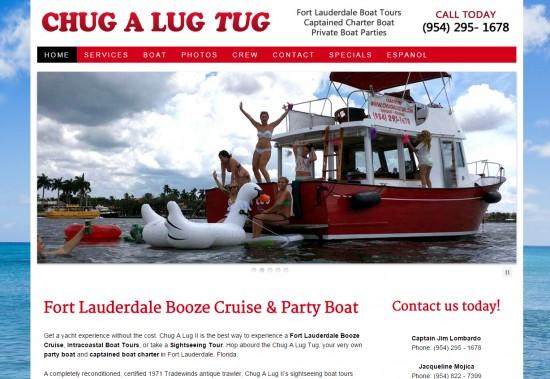 Chug A Lug Tug Boat Charters