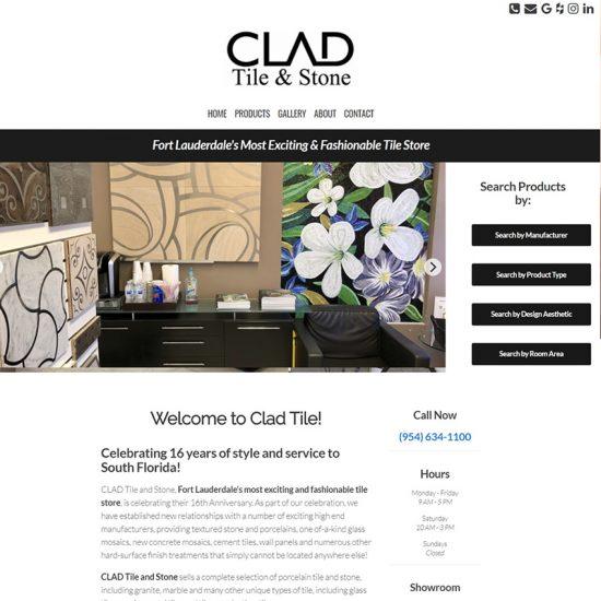 Clad Tile