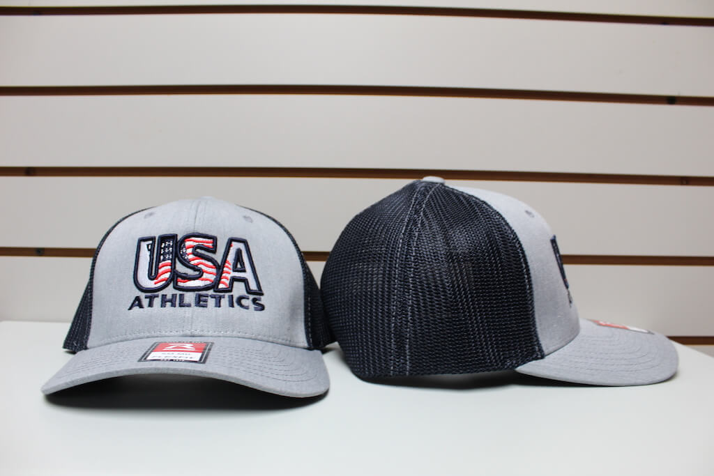 Flex Fit Trucker Hat Gray/Navy S/M, L/XL $26.50