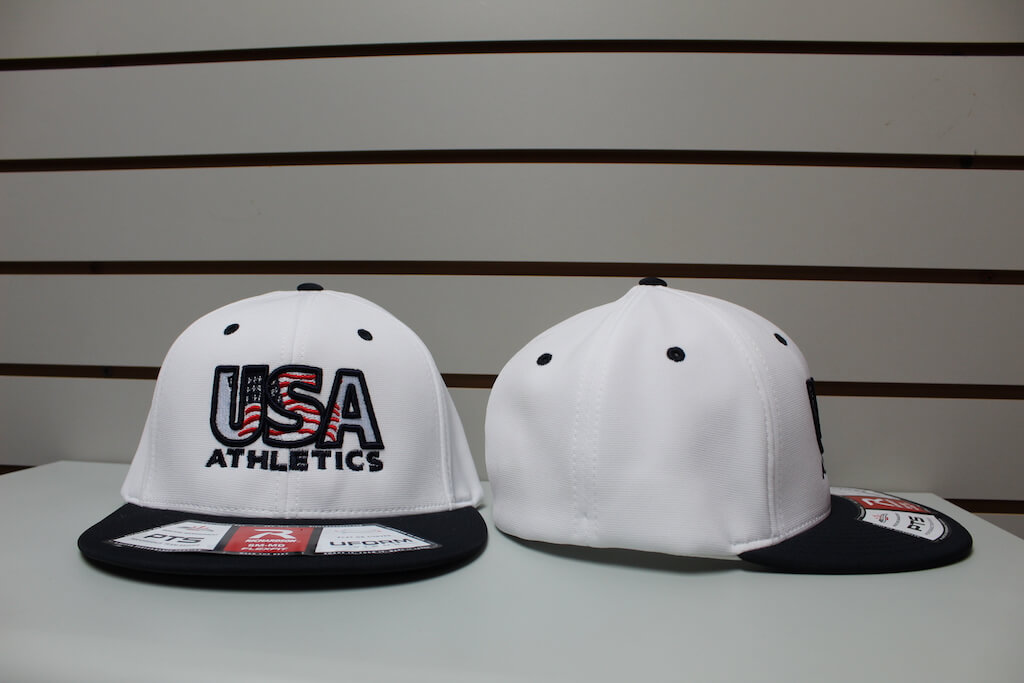 Flex Fit Moisture Hat White/Navy S/M, L/XL $26.50