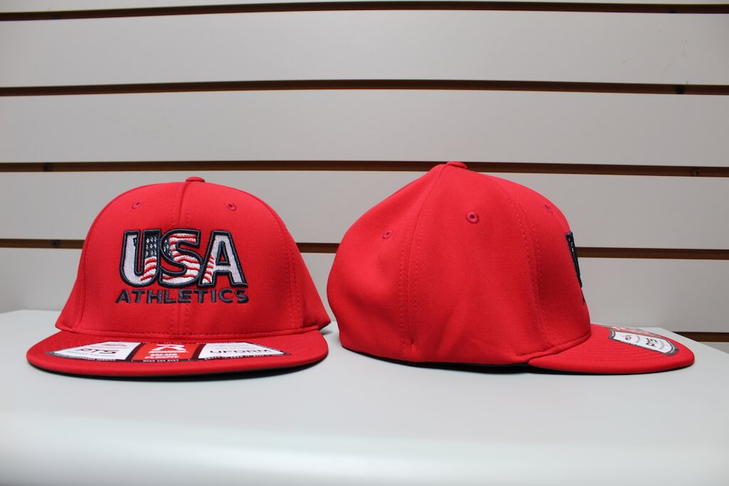 Flex Fit Moisture Hat Solid Red S/M, L/XL $26.50