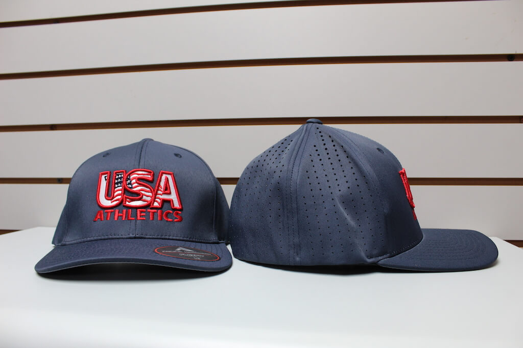 Flex Fit Moisture Mesh Hat Solid Navy S/M, L/XL $26.50