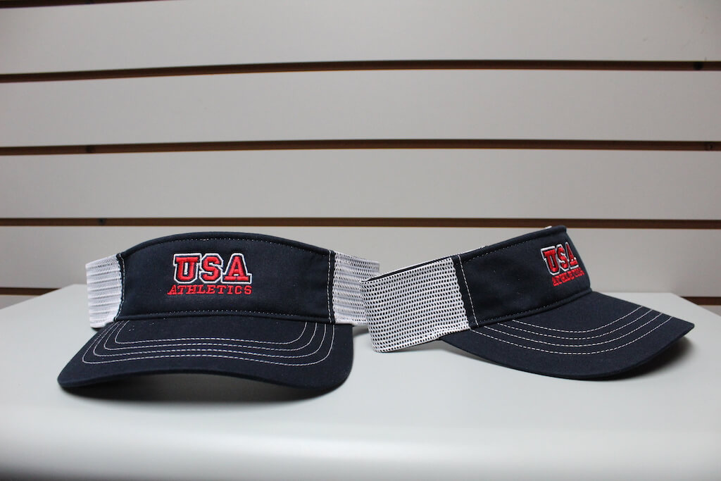 Trucker Visor Navy/White Adjustable $19.50