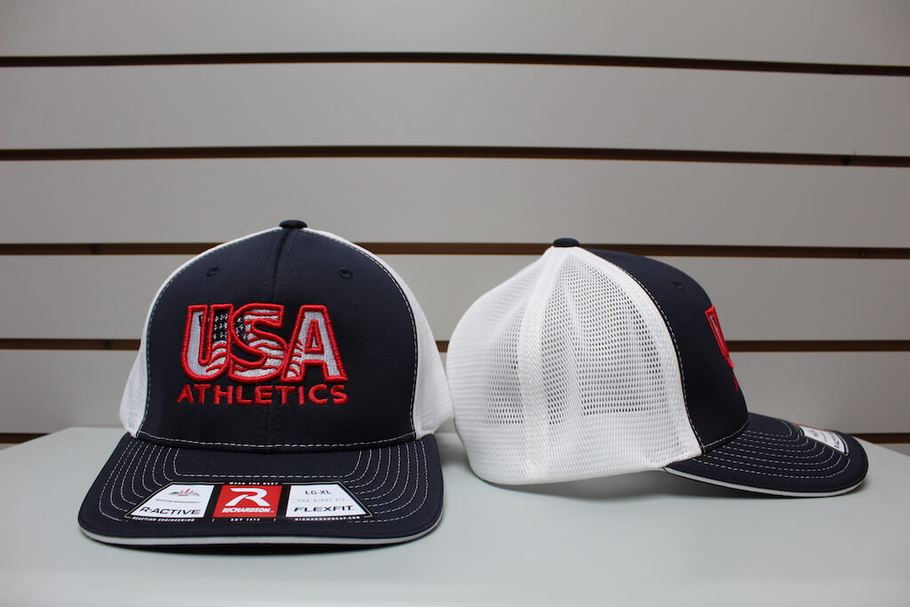 Flex Fit Trucker Hat Navy/White S/M, L/XL $26.50
