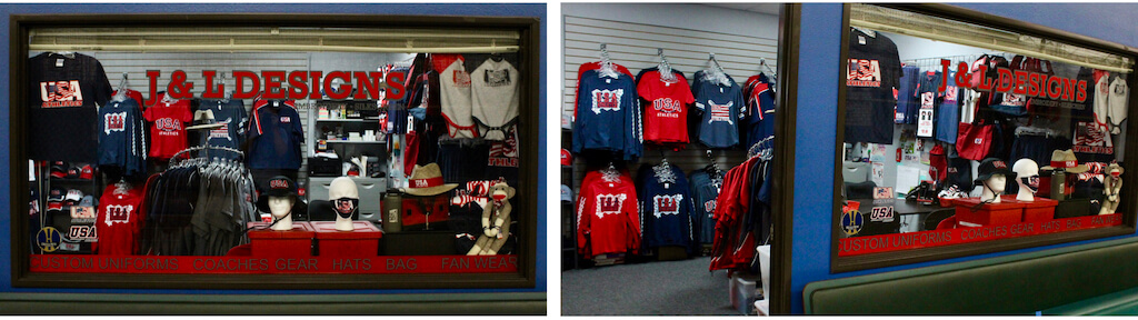 USA Athletics Pro Shop at On Deck in Long Beach