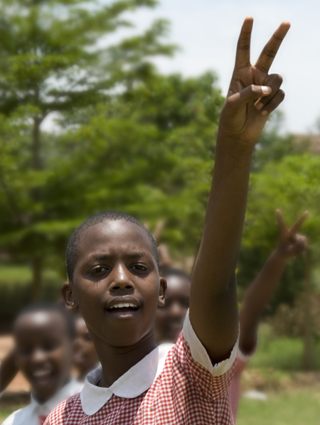 Peace from Rwanda - 10-15-07
