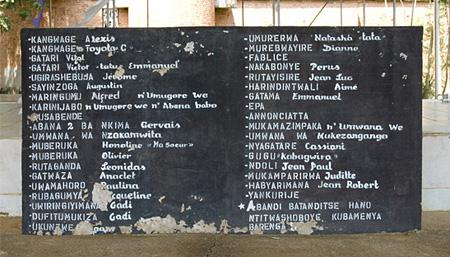 Nyamata Catholic Church - Genocide Memorial, October 2007.