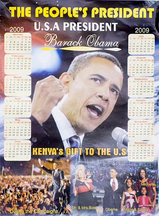 Kenyan Poster for Obama