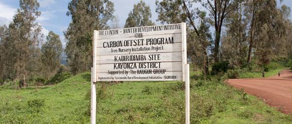 CDHI, carbon offset program, rwanda