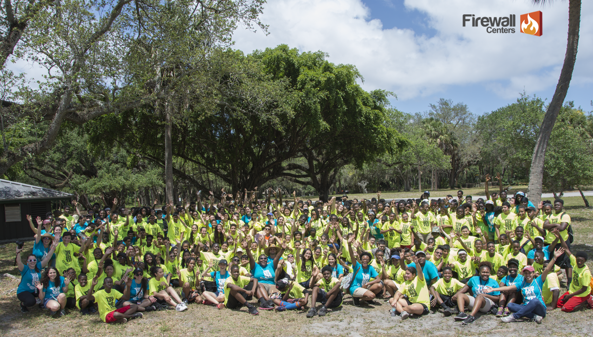 400 At-Risk Students Complete a Countywide Day of Service