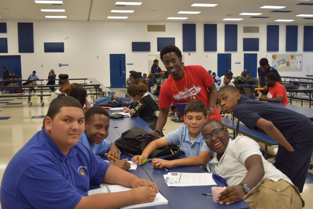 Generous Grant from United Way of Broward County Helps Firewall Centers Provide 75 At-Risk Youth at Pompano Beach Middle School with an Opportunity to Not Only Survive, But Thrive