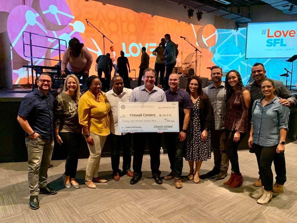 Good News South Florida – Church United funds new Firewall Center