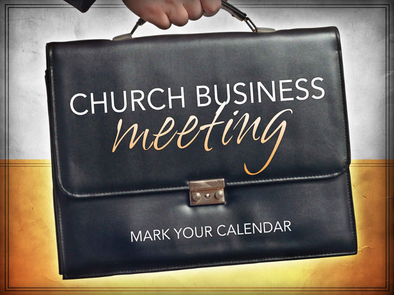 Church Family Business Meeting