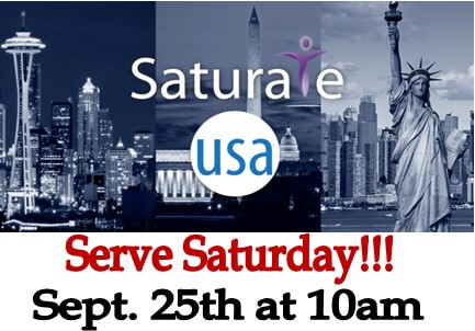 Serve Saturday